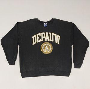 Vintage Depauw Crewneck